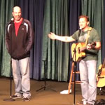 Marty Simpson Performs with Tim Hawkins